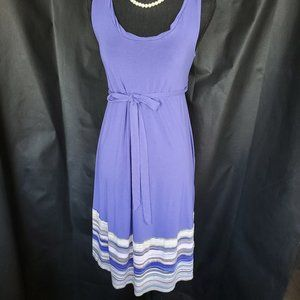 2/18 Liz Lange Maternity Purple Dress